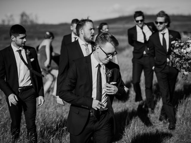 Brett and Courtney's wedding in Calgary, Alberta 42