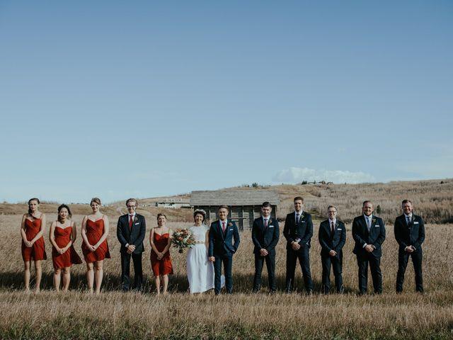 Brett and Courtney's wedding in Calgary, Alberta 43