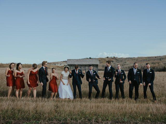 Brett and Courtney's wedding in Calgary, Alberta 44