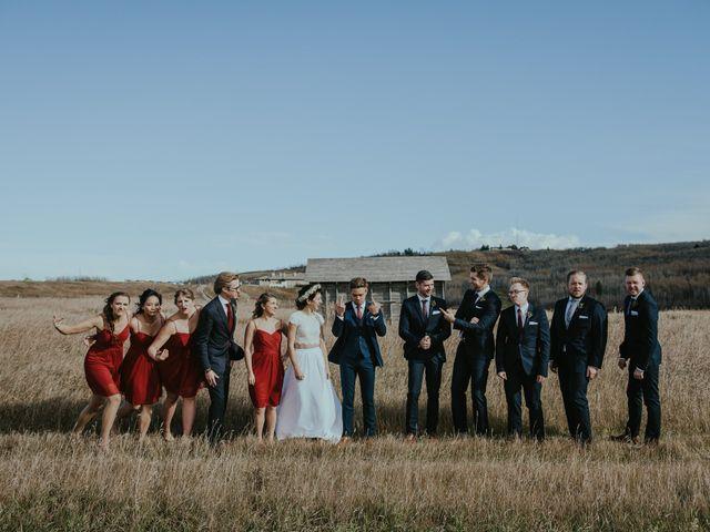 Brett and Courtney's wedding in Calgary, Alberta 45
