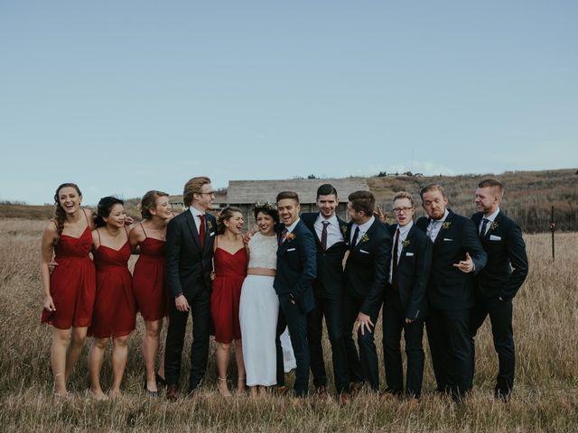 Brett and Courtney's wedding in Calgary, Alberta 46