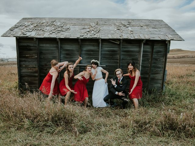Brett and Courtney's wedding in Calgary, Alberta 49