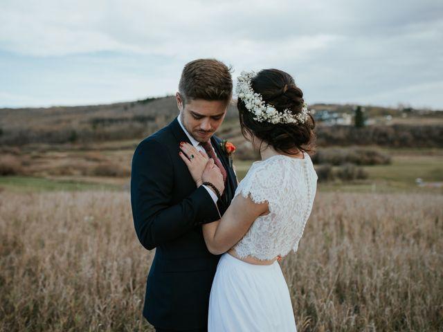 Brett and Courtney's wedding in Calgary, Alberta 50