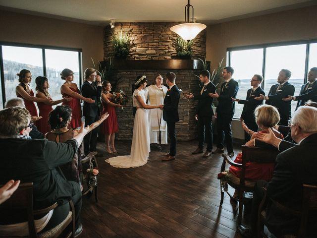Brett and Courtney's wedding in Calgary, Alberta 70