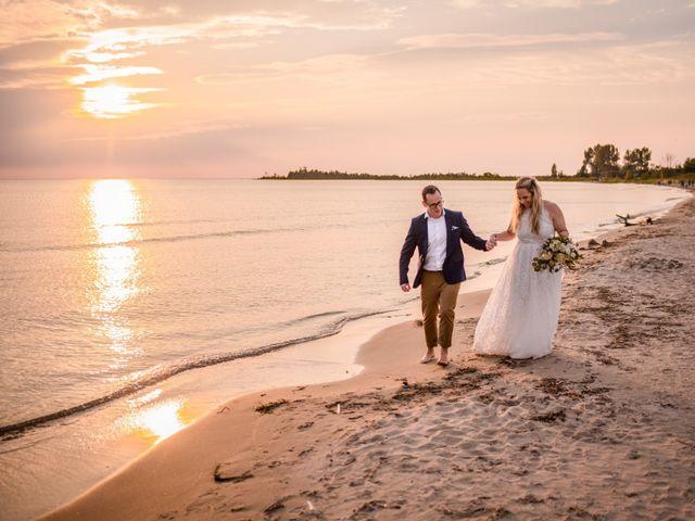 The wedding of Deb and Simon