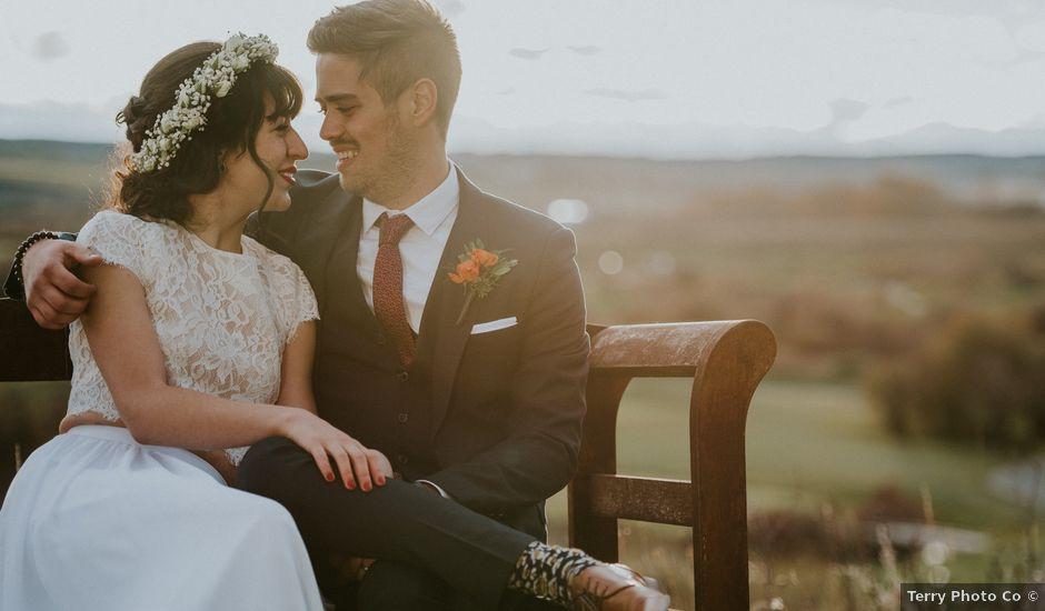 Brett and Courtney's wedding in Calgary, Alberta