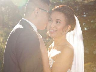 The wedding of Kim and Chris