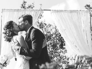 The wedding of Megan and Brett
