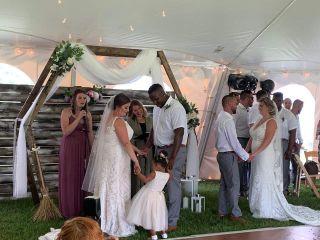 The wedding of Jaymee and Dewayne