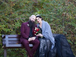 The wedding of Éva and Devin