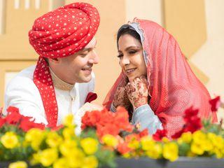 The wedding of Khadija and Bilawal