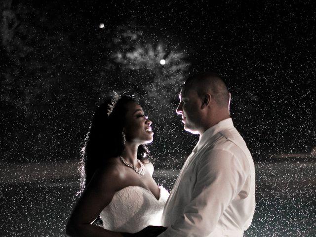 The wedding of Alinka and Chris
