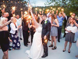 The wedding of Amanda and Justin