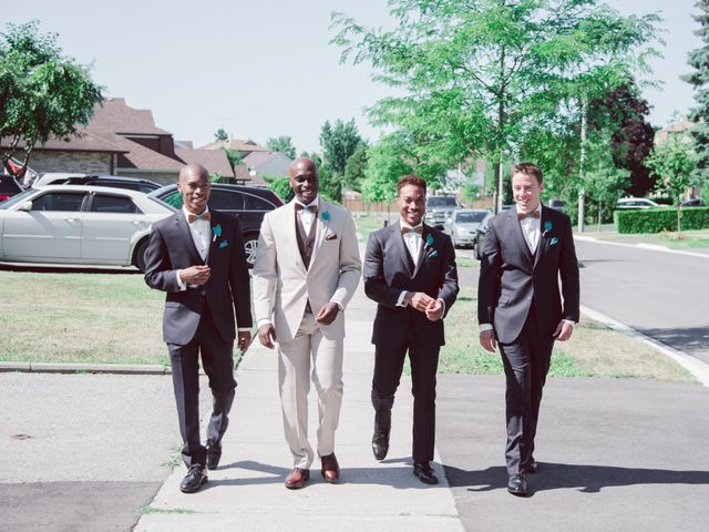 Tricia and Basil's wedding in Pickering, Ontario 8