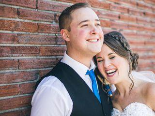 The wedding of Aaron and Amy