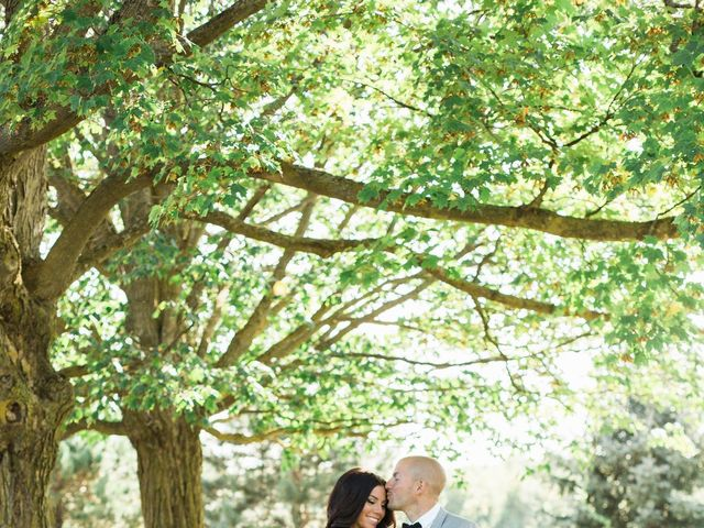 Barry and Chantelle's wedding in Caledon, Ontario 4