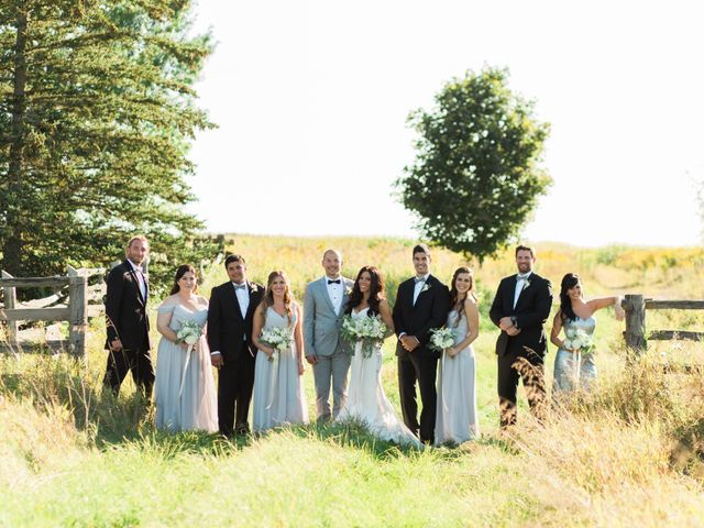 Barry and Chantelle's wedding in Caledon, Ontario 18