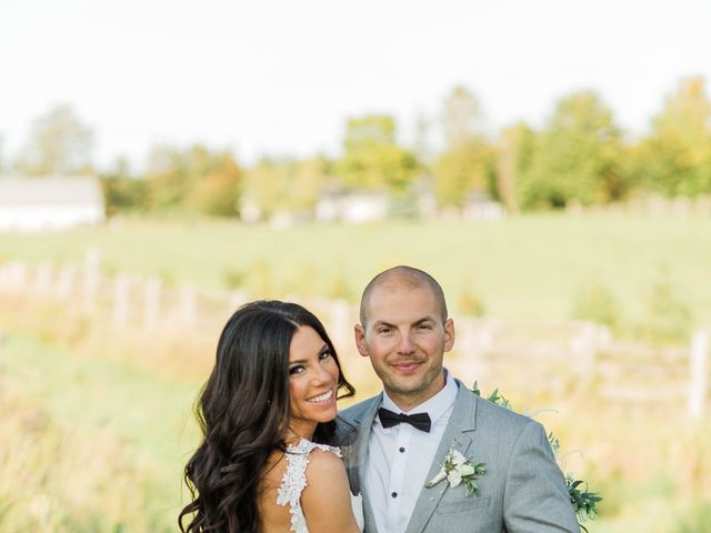 Barry and Chantelle's wedding in Caledon, Ontario 22