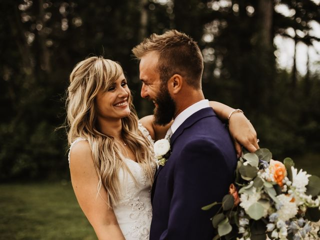 The wedding of Josh and Emily