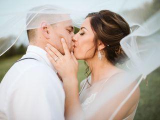 The wedding of Cydnie and Derek