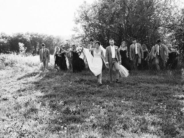 Derek and Cydnie's wedding in Cavan, Ontario 89