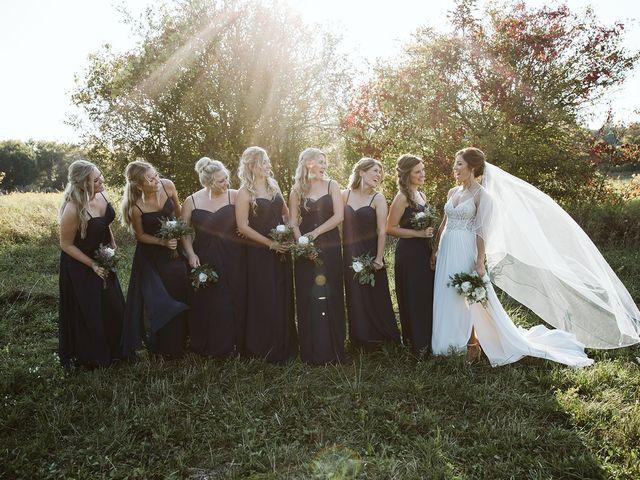 Derek and Cydnie's wedding in Cavan, Ontario 90
