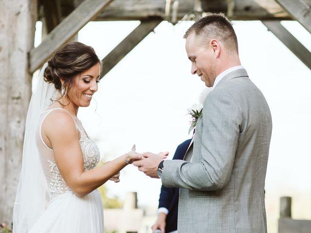Derek and Cydnie's wedding in Cavan, Ontario 50
