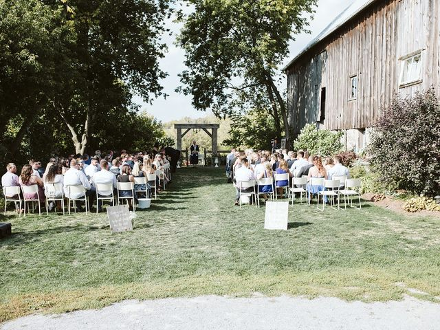 Derek and Cydnie's wedding in Cavan, Ontario 38