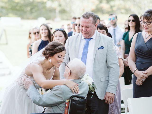 Derek and Cydnie's wedding in Cavan, Ontario 42
