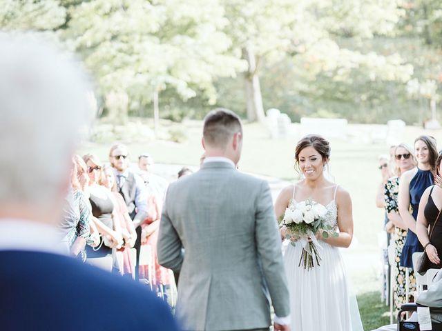 Derek and Cydnie's wedding in Cavan, Ontario 43