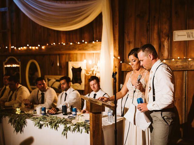 Derek and Cydnie's wedding in Cavan, Ontario 122