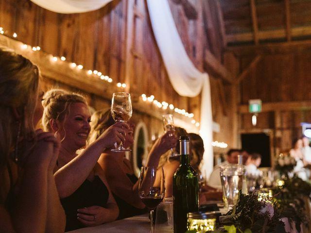 Derek and Cydnie's wedding in Cavan, Ontario 114