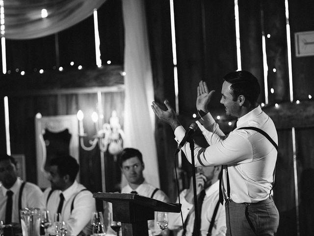 Derek and Cydnie's wedding in Cavan, Ontario 120