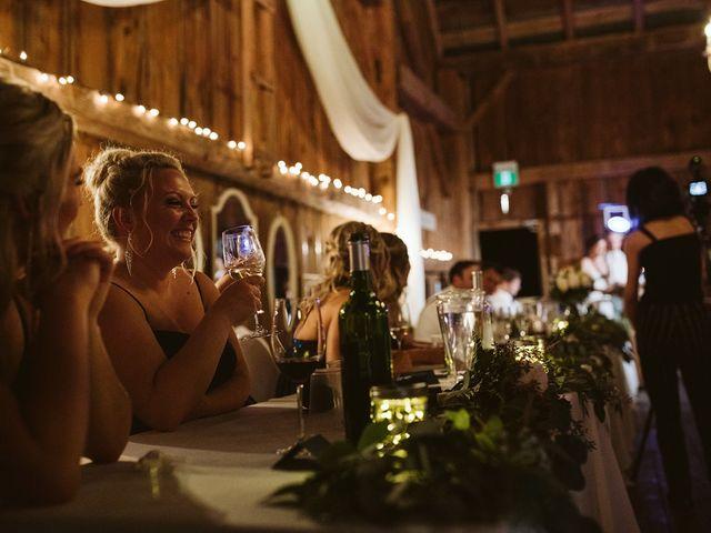 Derek and Cydnie's wedding in Cavan, Ontario 125