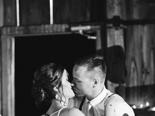 Derek and Cydnie's wedding in Cavan, Ontario 123