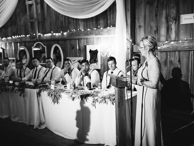 Derek and Cydnie's wedding in Cavan, Ontario 112