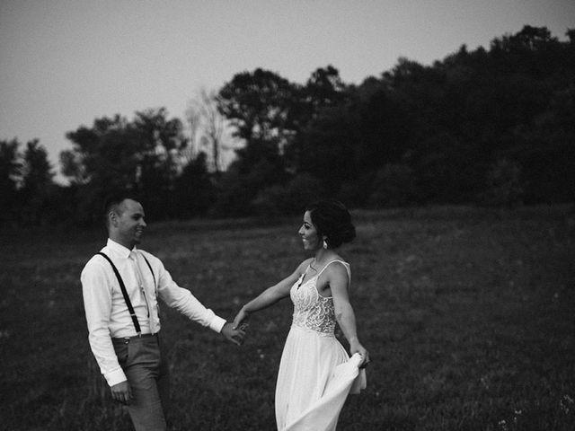Derek and Cydnie's wedding in Cavan, Ontario 141