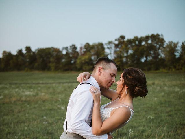 Derek and Cydnie's wedding in Cavan, Ontario 142