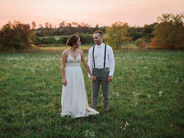Derek and Cydnie's wedding in Cavan, Ontario 147