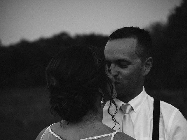 Derek and Cydnie's wedding in Cavan, Ontario 4