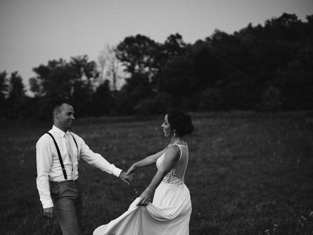Derek and Cydnie's wedding in Cavan, Ontario 155