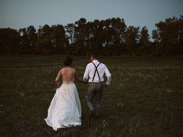 Derek and Cydnie's wedding in Cavan, Ontario 162