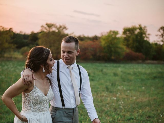 Derek and Cydnie's wedding in Cavan, Ontario 165