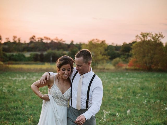 Derek and Cydnie's wedding in Cavan, Ontario 168