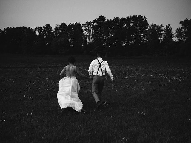 Derek and Cydnie's wedding in Cavan, Ontario 192