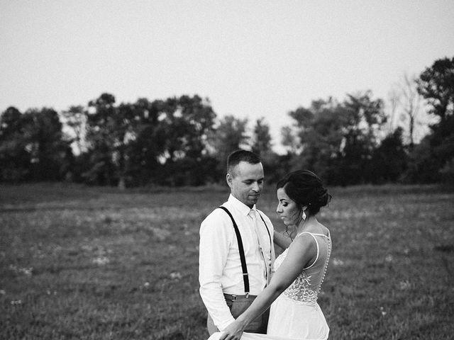Derek and Cydnie's wedding in Cavan, Ontario 2
