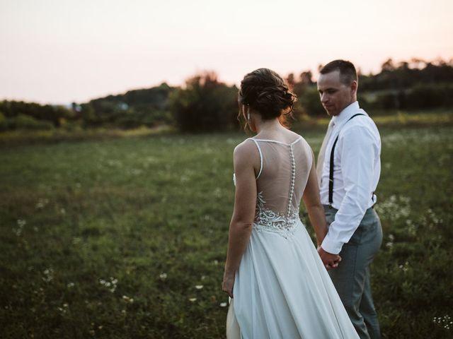 Derek and Cydnie's wedding in Cavan, Ontario 1