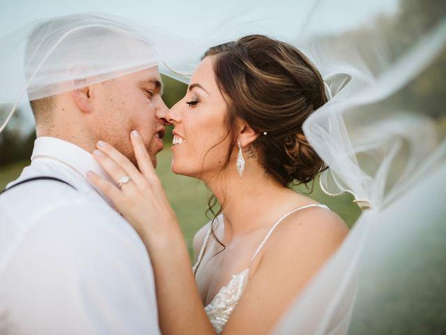 Derek and Cydnie's wedding in Cavan, Ontario 207