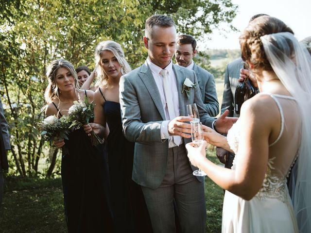 Derek and Cydnie's wedding in Cavan, Ontario 65