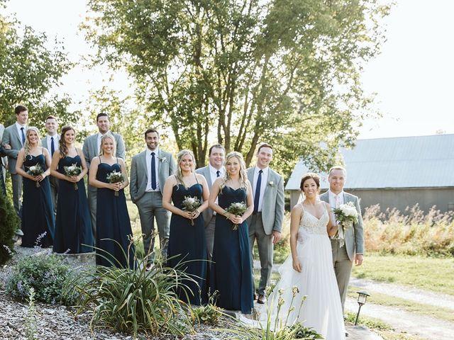 Derek and Cydnie's wedding in Cavan, Ontario 72